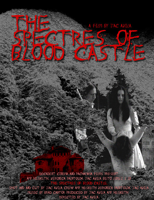 Spectres of Blood Castle - The poster.