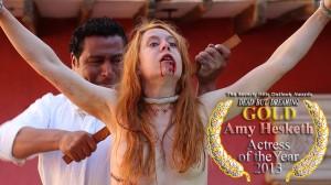 ORO - Mejor Actriz Amy Hesketh